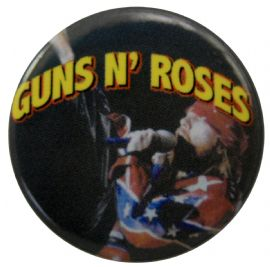 Guns N'Roses - 'Axl Flag Jacket' Button Badge